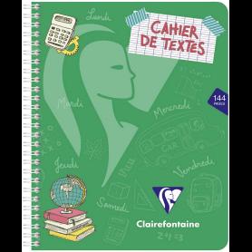 Clairefontaine Cahier de textes Mimesys, 170 x 220 mm, séyès