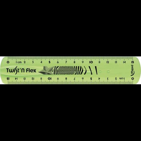 MAPED Règle Twist'n flex 15cm