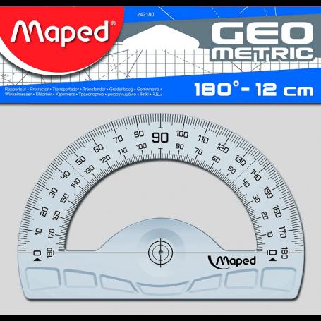 Maped rapporteur demi-circulaire géométrique 180 dégrés
