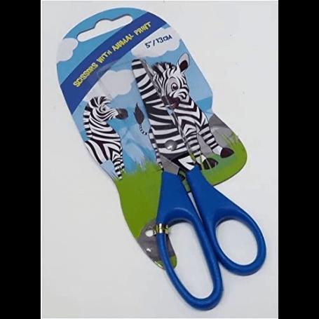 ciseaux enfant 13 cm décor zebre