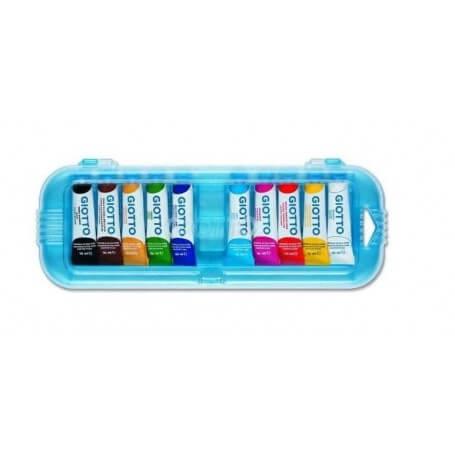 Gouache scolaire boite de 10 tubes de 10ml