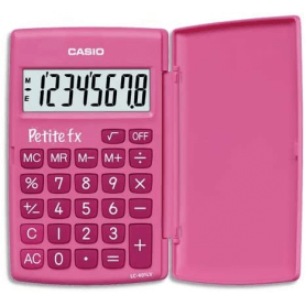 Calculatrice de poche Casio Petite FX - Bleue