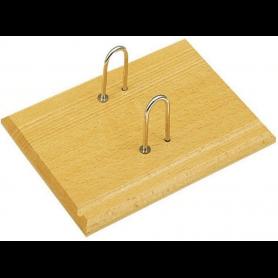Wonday Socle pour bloc éphéméride, en bois