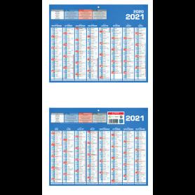Calendrier Classique 16 mois mini sept 2020 /dec 2021
