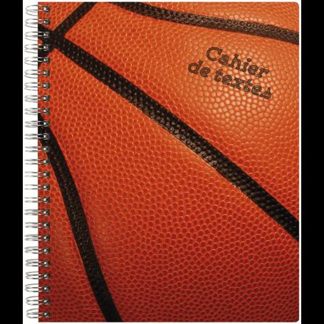 Exacompta Cahier de textes spiralé Sports 17 x 22 cm