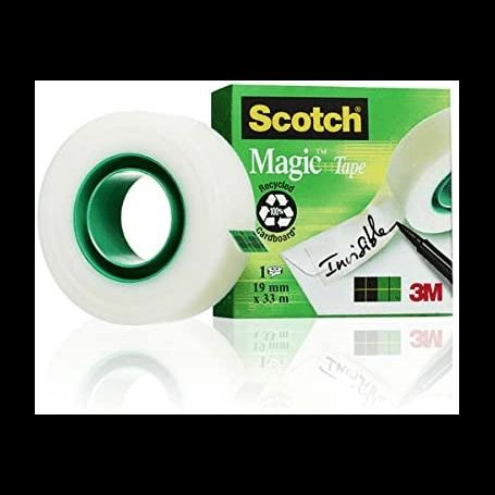 Scotch Ruban adhésif invisible Magic 810 - adhésif mat