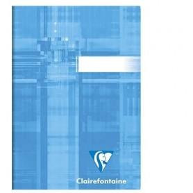 Clairefontaine carnet piqué 9x14 96p Q.5x5