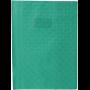 Calligraphe protège-cahier grain losange 21x29,7 cm en PVC (plastique) opaque, Vert