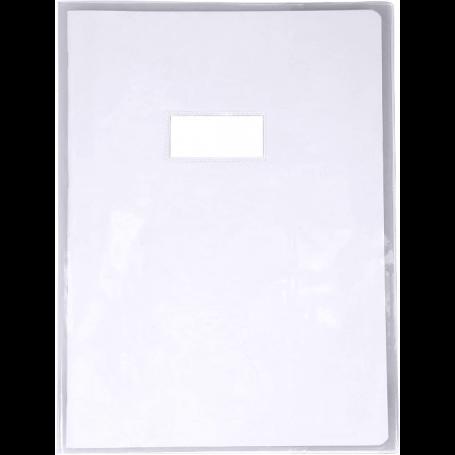 Calligraphe protège-cahier Cristal 21x29,7 cm en PVC transparent , Incolore