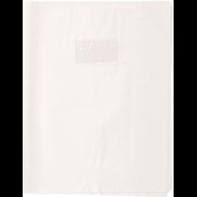 Calligraphe protège-cahier grain losange 21x29,7 cm PVC opaque, Blanc