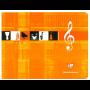 Clairefontaine Cahier de Musique, 170 x 220 mm paysage