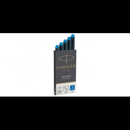 PARKER Cartouches d'encre longues QUINK, bleu