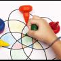 LEFRANC & BOURGEOIS Baby crayons, étui de 6, ergonomiques