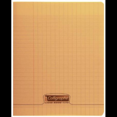 Calligraphe Cahier 8000 POLYPRO, 170 x 220 mm, orange