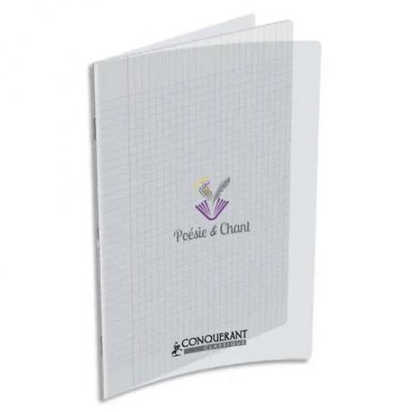 Cahier de poésie 90g, 24x32cm, 48 pages