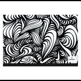 CANSON Carton à dessin Studio 32x45cm Edition Artiste noir/blanc