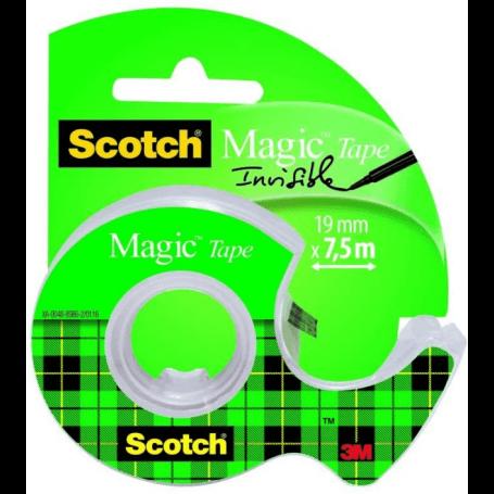Scotch Ruban adhésif invisible 19mm x 7.5m