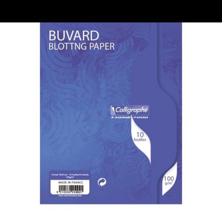 BUVARDS 10 FEUILLES 16x21 100G