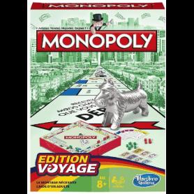 Monopoly jeu de voyage