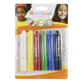 Grimtout 6 batons de maquillage