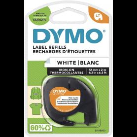 Dymo cassettes d'étiquettes thermocollantes 12mm x 2m