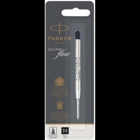 PARKER Recharge pour stylo QUINKflow, M, blister, noir