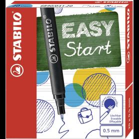 STABILO Cartouche pour stylo roller EASYoriginal, bleu