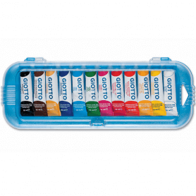 Giotto 12 tubes de gouache 10ml