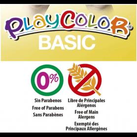 Playcolor One - Boite 6 sticks de Gouache solide