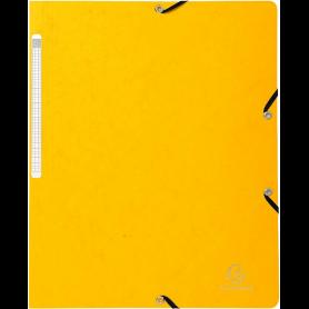 EXACOMPTA Chemise à élastiques, A4, en carton