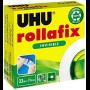 UHU Ruban adhésif 'rollafix', invisible, 19 mm x 33 m