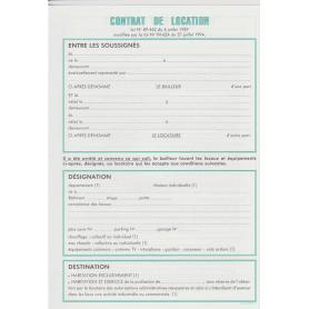 EXACOMPTA Feuille 'Contrat de location pour locaux non meublée
