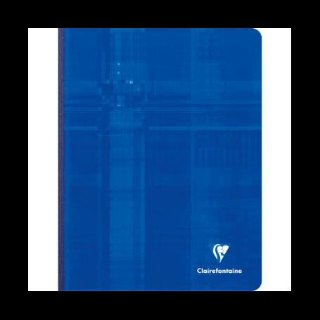 Clairefontaine Cahier Broché 17x22cm 192 pages Grands carreaux