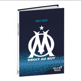 Quo vadisAgendas année scolaire TEXTAGENDA Journalier 12x17cm Olympique Marseille
