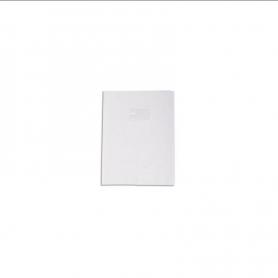 CALLIGRAPHE Protège-cahier Grain Cuir 20/100ème 17x22 Blanc