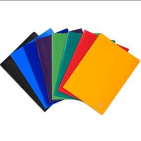 Porte-vues A4 - EXACOMPTA -180 vues - Coloris assortis