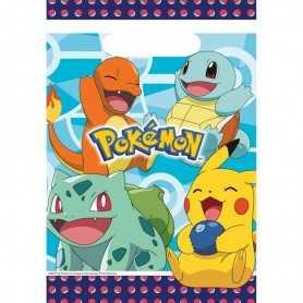 8 Sachets de fête Pokemon