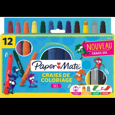 Craies de coloriage x12 paper mate
