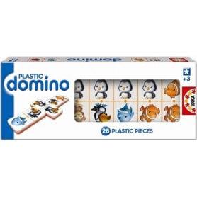 Jeu de dominos animaux 28 pièces