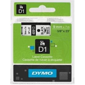 Dymo Étiquettes standard D1 9 mm noir sur blanc