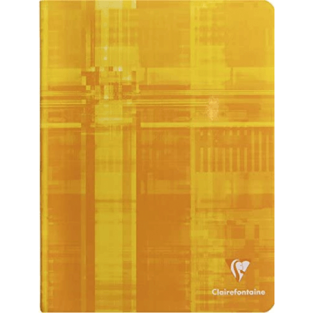 Cahier piqué 17x22cm 64 pages grands carreaux (séyès)