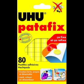 PASTILLES ADHÉSIVES PATAFIX JAUNE 80 PASTILLES