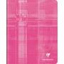 Cahier piqué 17x22 120p grands carreaux (séyès)