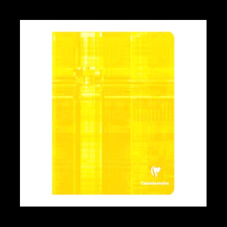 Cahier piqué 17x22cm 144 pages grands carreaux (séyès)