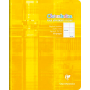 Cahier piqué 17x22 32p séyès 3mm