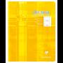 Cahier 17x22 32p séyès 4mm
