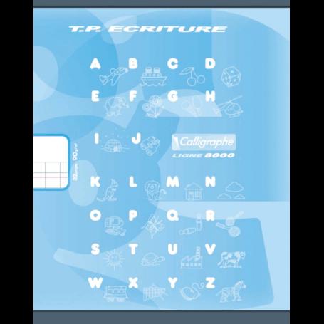 Cahier TP d'écriture - Double ligne 3 mm IV - 17 x 22 cm - 32 pages