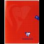 Cahier Mimesys grands carreaux (séyès) 17x22 cm 96 pages