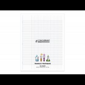 CONQUERANT CLASSIQUE Cahier travaux pratiques, 240 x 320 mm