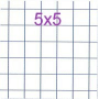 CONQUERANT CLASSIQUE Carnet piqûre 90 x 140 mm, quadrillé